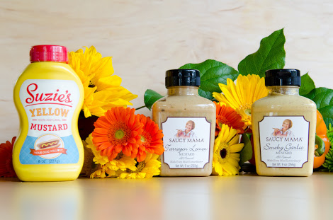 Win 3 Saucy Mama's Healthy Mustards!